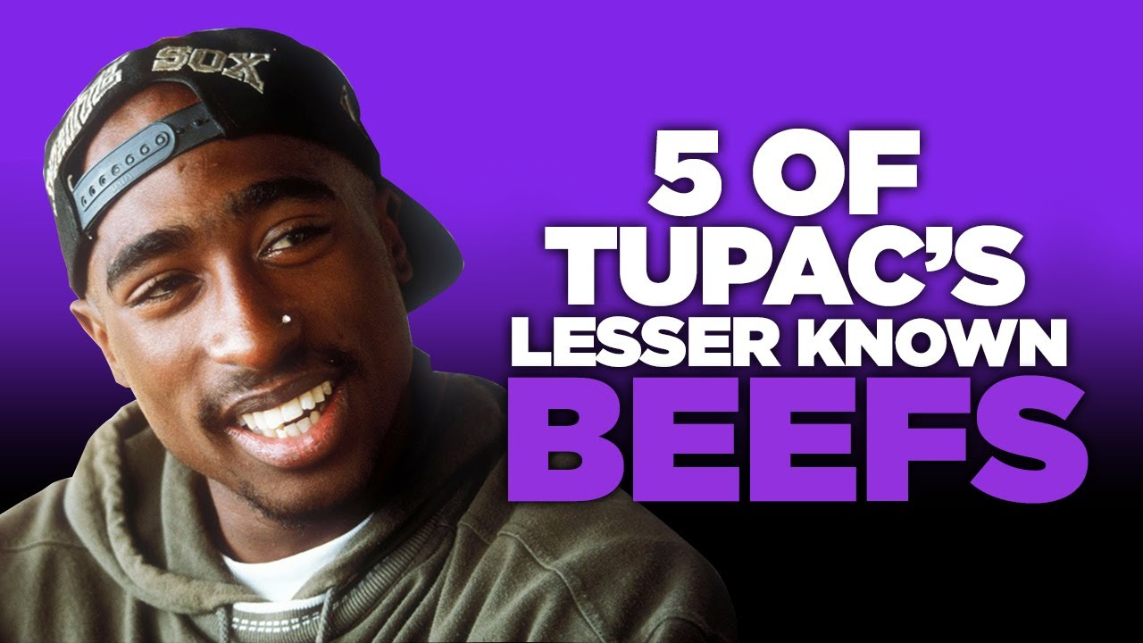 5 Of Tupac's Lesser Known Beefs