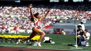 Gold Medal Moment: Relive Florence Griffith-Joyner