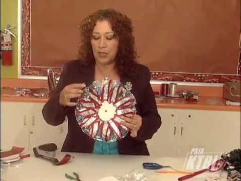 Artes Manuales Con Adriana Homecoming Mums Youtube