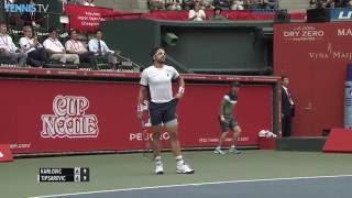 2016 Rakuten Japan Open, Tokyo: Thursday Highlights ft. Monfils & Karlovic
