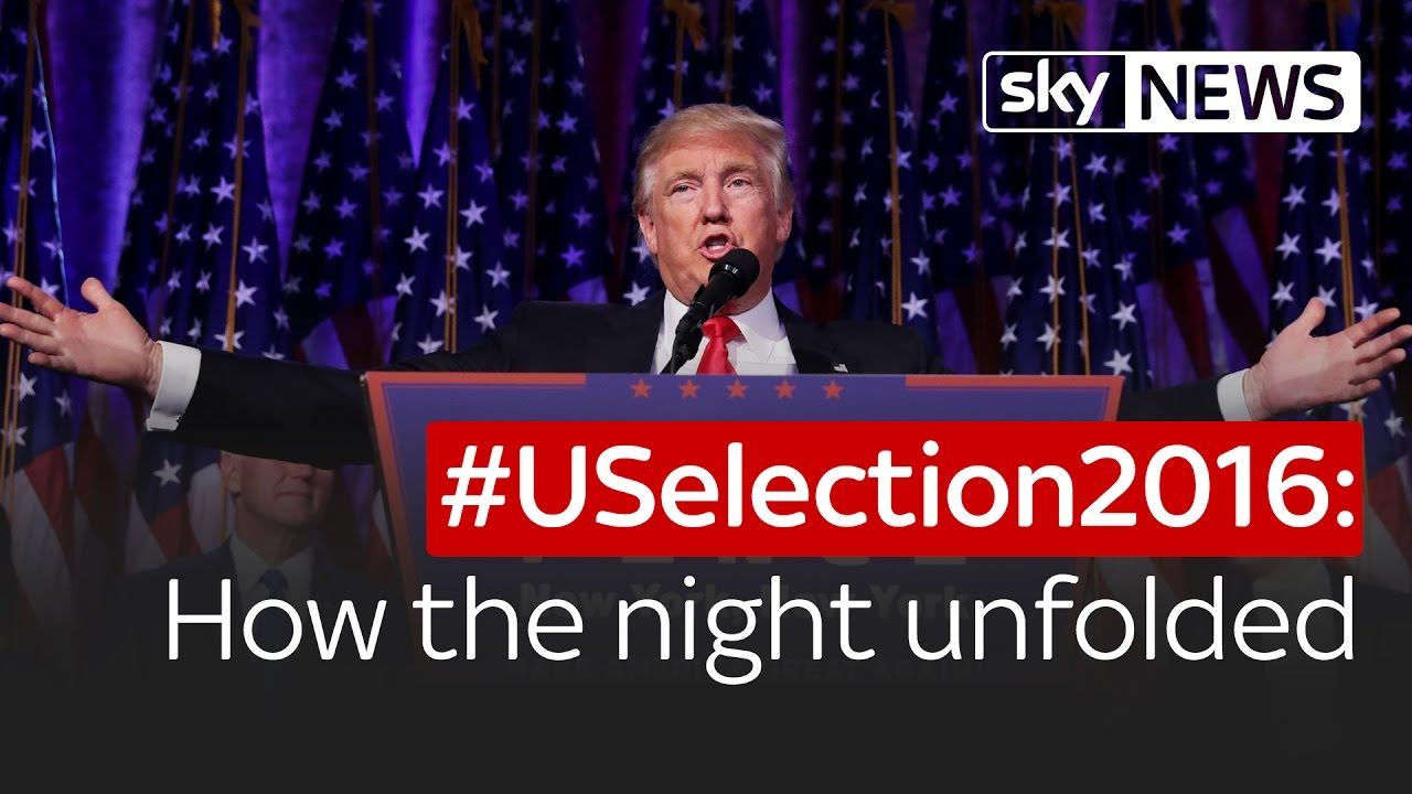 USelection How The Night Unfolded And Donald Trump Won YouTube - 18 hilarious reactions to donald trump winning the election
