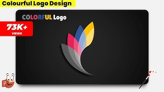 15.Design COLORFUL Logo/PowerPoint Presentation/Graphic Design/Free Template