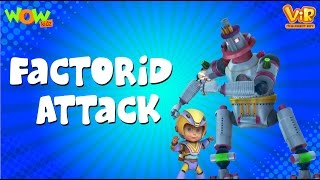 Factroid Attack - Vir: The Robot Boy WITH ENGLISH, SPANISH & FRENCH SUBTITLES