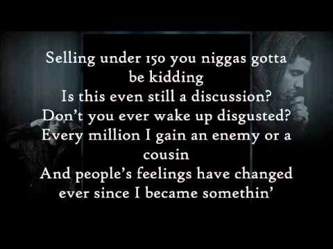 Aaliyah ft Drake - Enough Said [Lyrics On Screen] HD