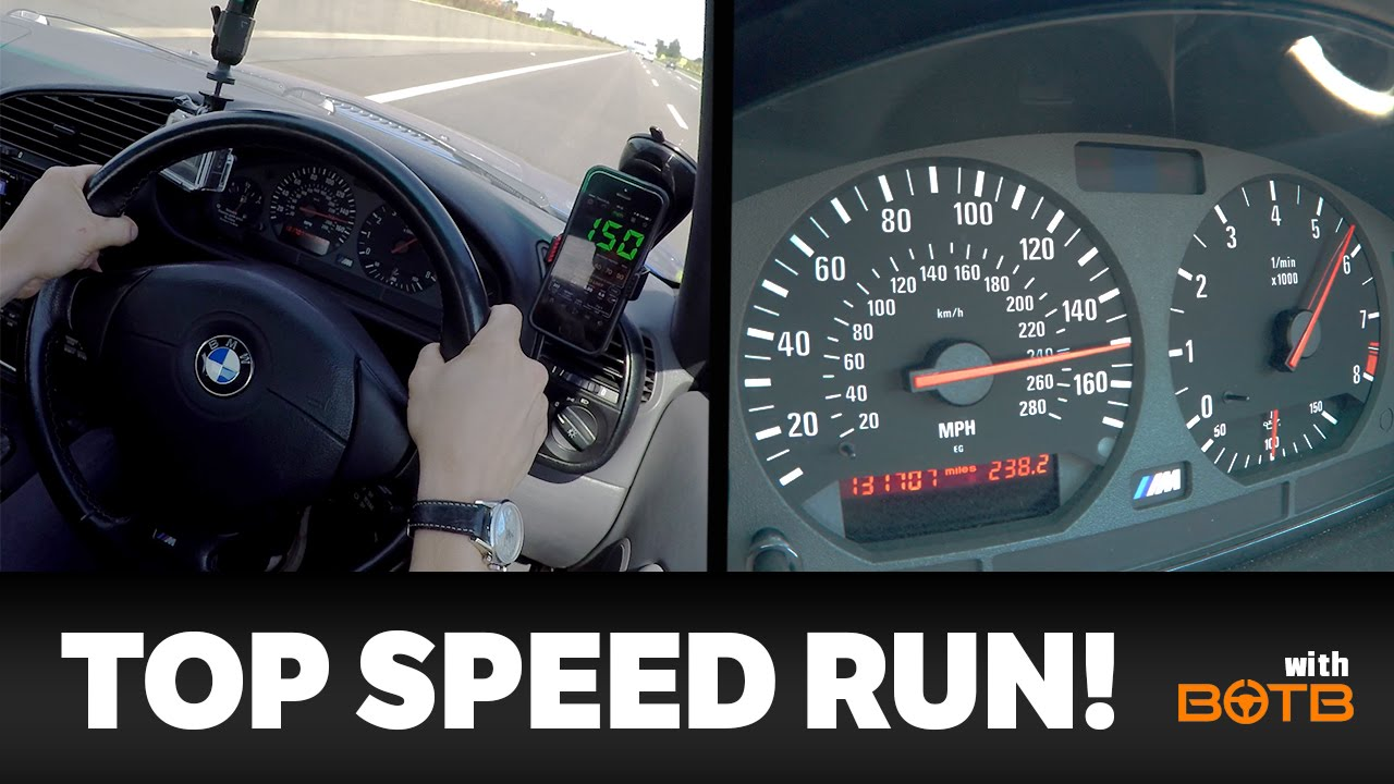 How Fast Is My E36 M3 Lemon On The Derestricted Autobahn