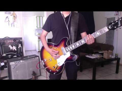 Interpol - The Heinrich Maneuver Cover (Dan Guitar riffs)