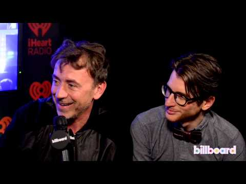 Benny Benassi & Gary Go backstage Q&A at iHeartRadio Music Festival 2013