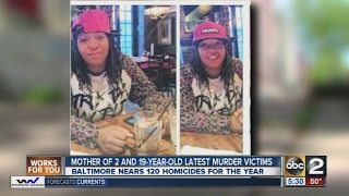 19-year-old mother latest victim of fatal shooting in Baltimore