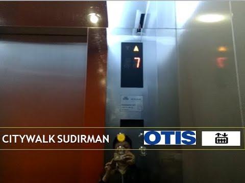 OTIS Traction Elevators at Citywalk Sudirman, Jakarta