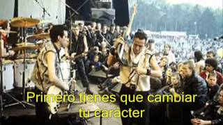 The Clash - Rudie Can't Fail (subtitulado Español)