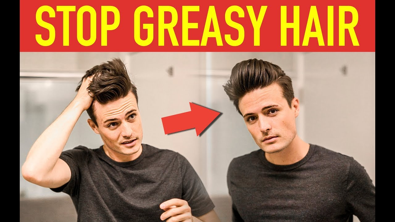 Stop Greasy Hair How To Style Second Day Hair Mens