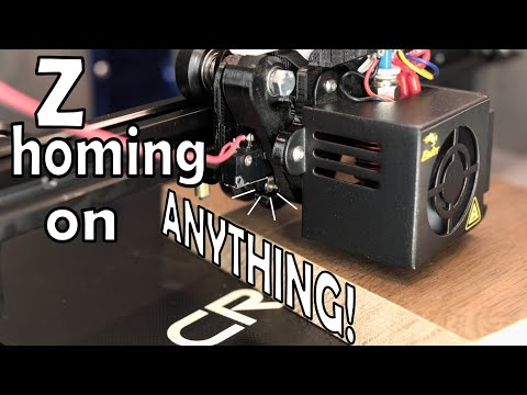 Home On Anything With Any Tool Automatically On An Ender 3 Pro