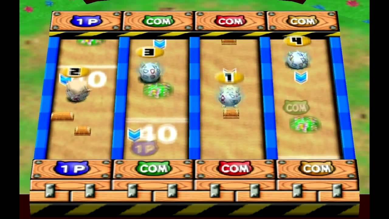 N64 Pokemon Stadium 2 Mini Games [Perfect Score on