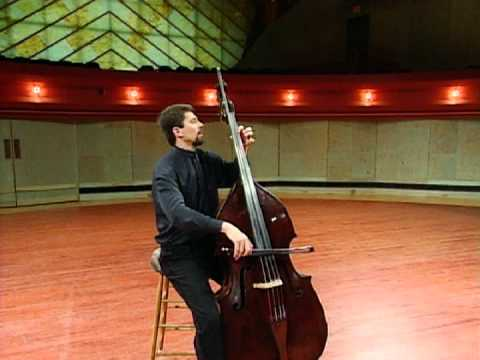 Bach Cello Suite No. 1, I. Prelude - Jeff Bradetich, double bass
