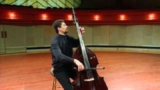 Bach Cello Suite No. 1, I. Prelude - Jeff Bradetich, double bass