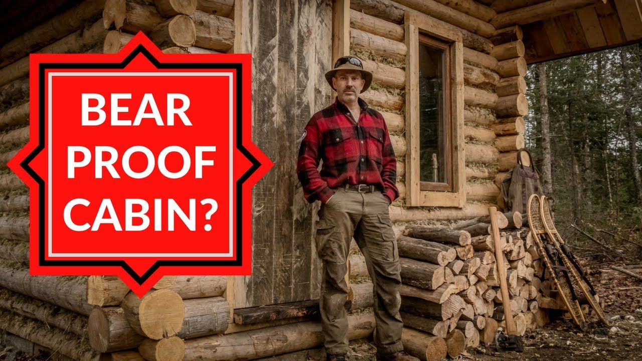 Insecurity At The Off Grid Cabin Doors Firewood And An