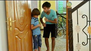 تحشيش عراقي #خباثه اخوي الصغير قفل الباب عليه | كرار الساعدي
