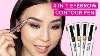 4 IN 1 Brow Contour & Highlight Pen | TINA TRIES IT