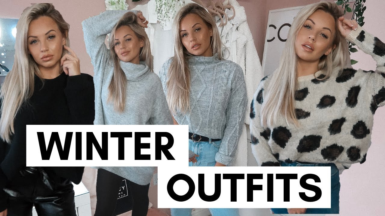 WINTER OUTFIT IDEAS | Lucy Jessica Carter AD 1
