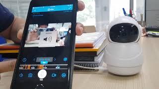 Auto Tracking 360 WIFI Camera