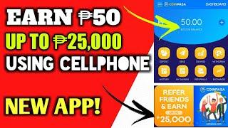 Paano Kumita Ng P50 Upto P25,000 Gamit ang Cellphone New App