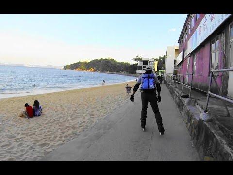 Inline Skating - Exploring Cheung Chau Island 長洲 2014-11-21