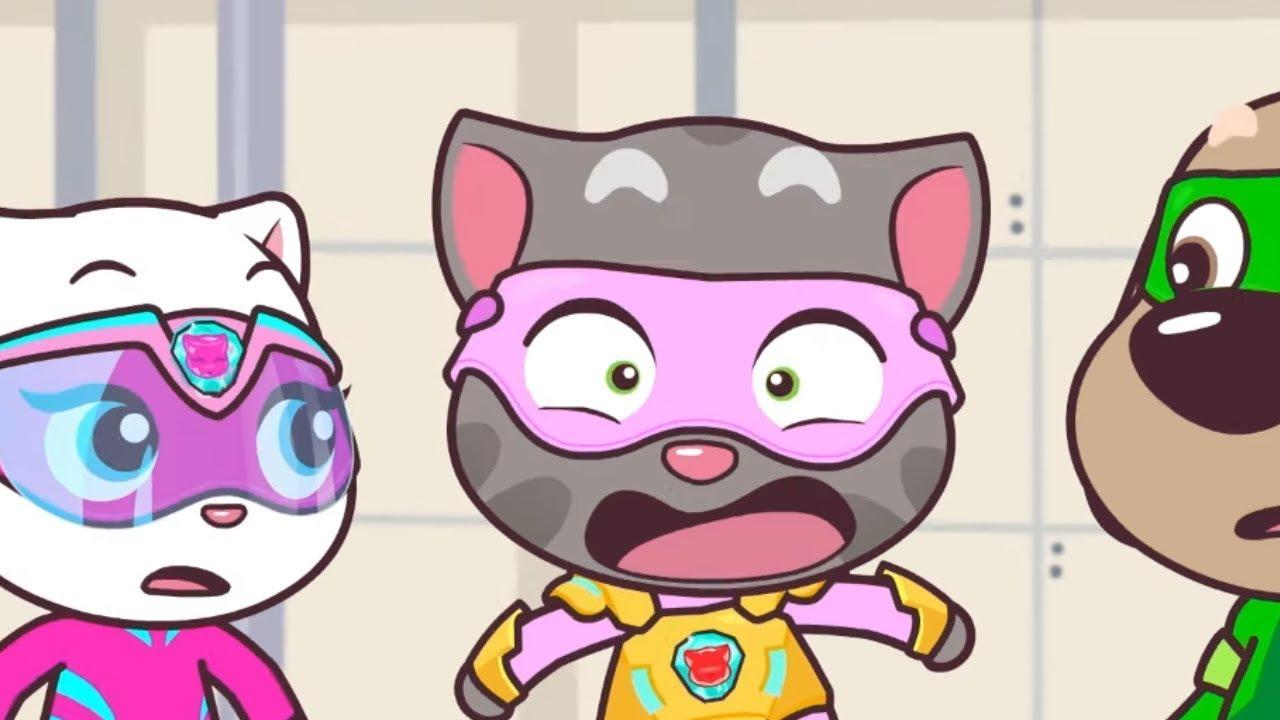 湯姆貓英雄小隊 第40集暴走彩虹色