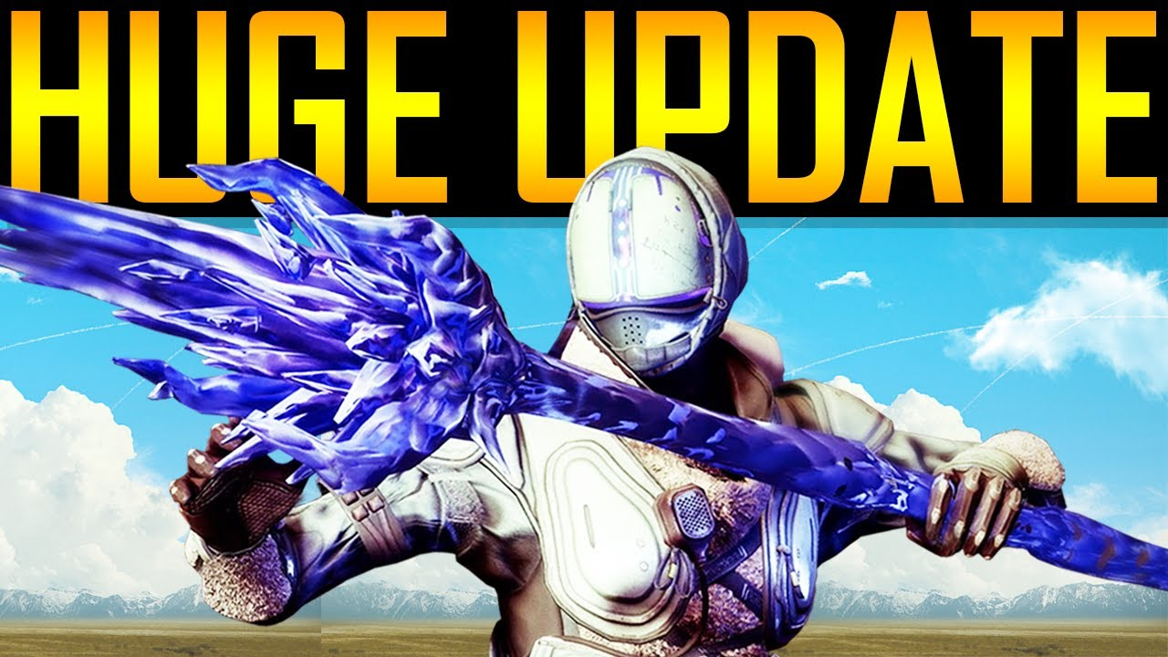 Destiny 2 - IT'S TIME! THE HUGE UPDATE VIDEO! thumbnail