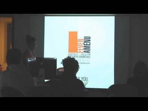 Graphic Design lecture at Art Institute of Washington