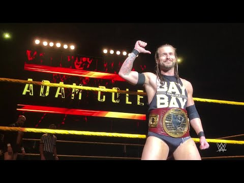 "Adam Cole welcomes Belgium to ""the main event"""