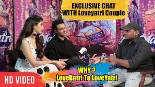 Exclusive Chat With #LoveYatri Couple Aayush Sharma & Warina Hussain | #LoveRatri To Loveyatri