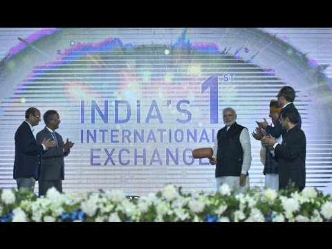 PM Modi Inaugurates first International Stock Exchange at Gift City, Gandhinagar
