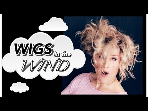 How To manage your WIGS in the WIND! Options | Methods | Products | TAZS Wig Tips!