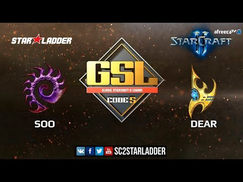 2018 GSL Season 2 Ro16 Group B Match 1: soO (Z) vs Dear (P)