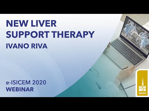 New liver support theraphy | Ivano Riva | e-ISICEM 2020