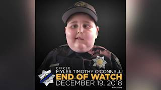 7-year-old honorary Sunnyvale police officer has passed away