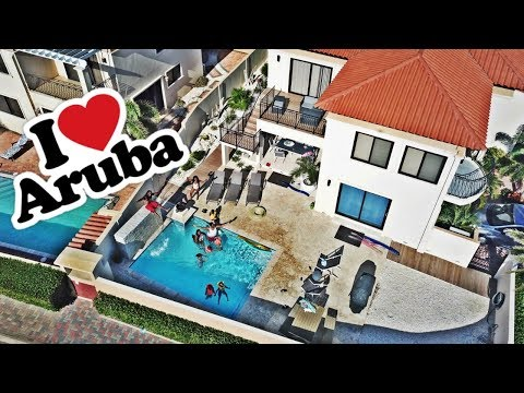 WE IN ARUBA BABY -FAMILY VACATION FAMILY VLOG