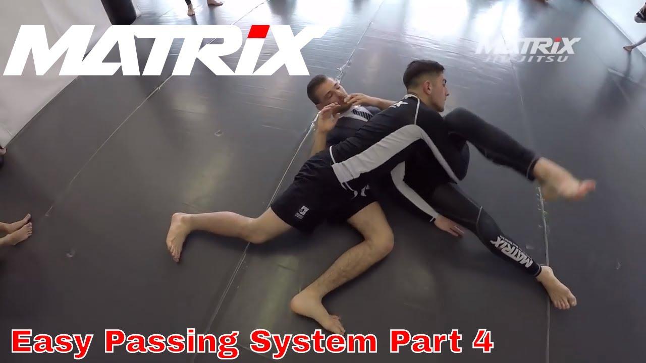 Easy and effective Jiu Jitsu Guardpassing System - ADCC Mini Seminar by Bruno Amaddeo - Part 4
