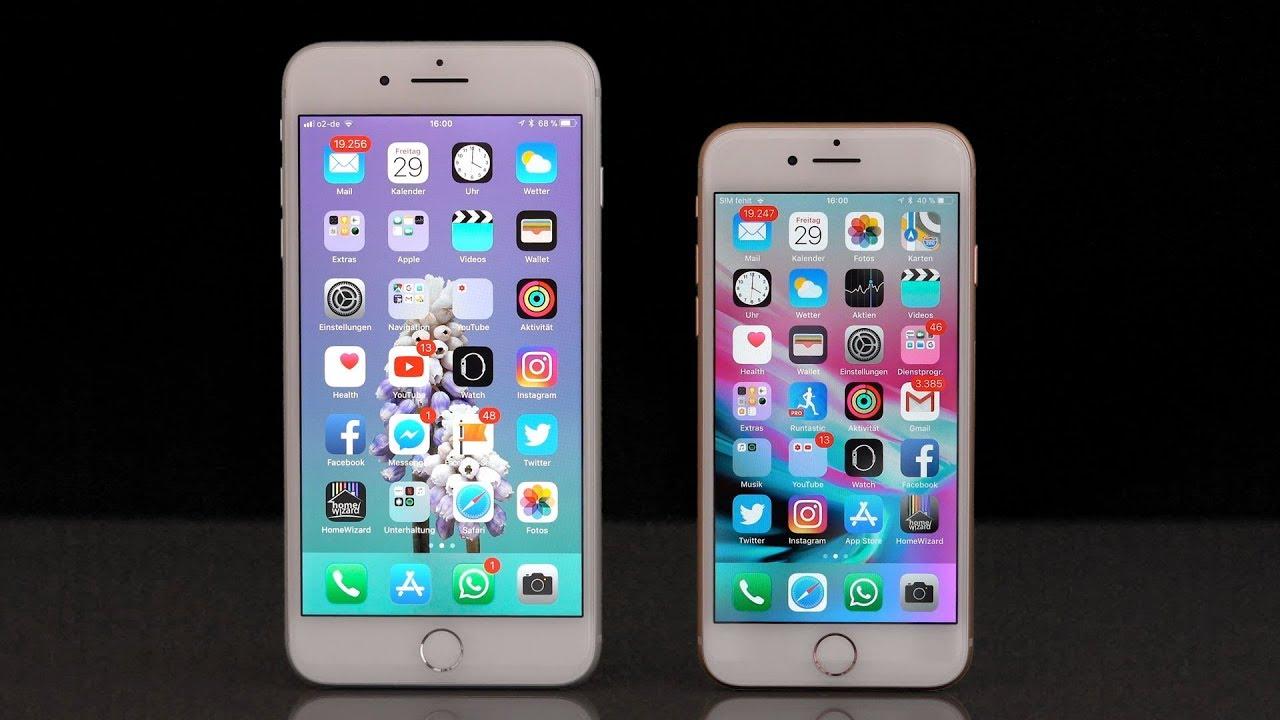 test apple iphone 8 iphone 8 plus im ausf hrlichen. Black Bedroom Furniture Sets. Home Design Ideas