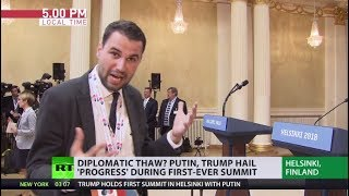 Putin-Trump summit: Backstage