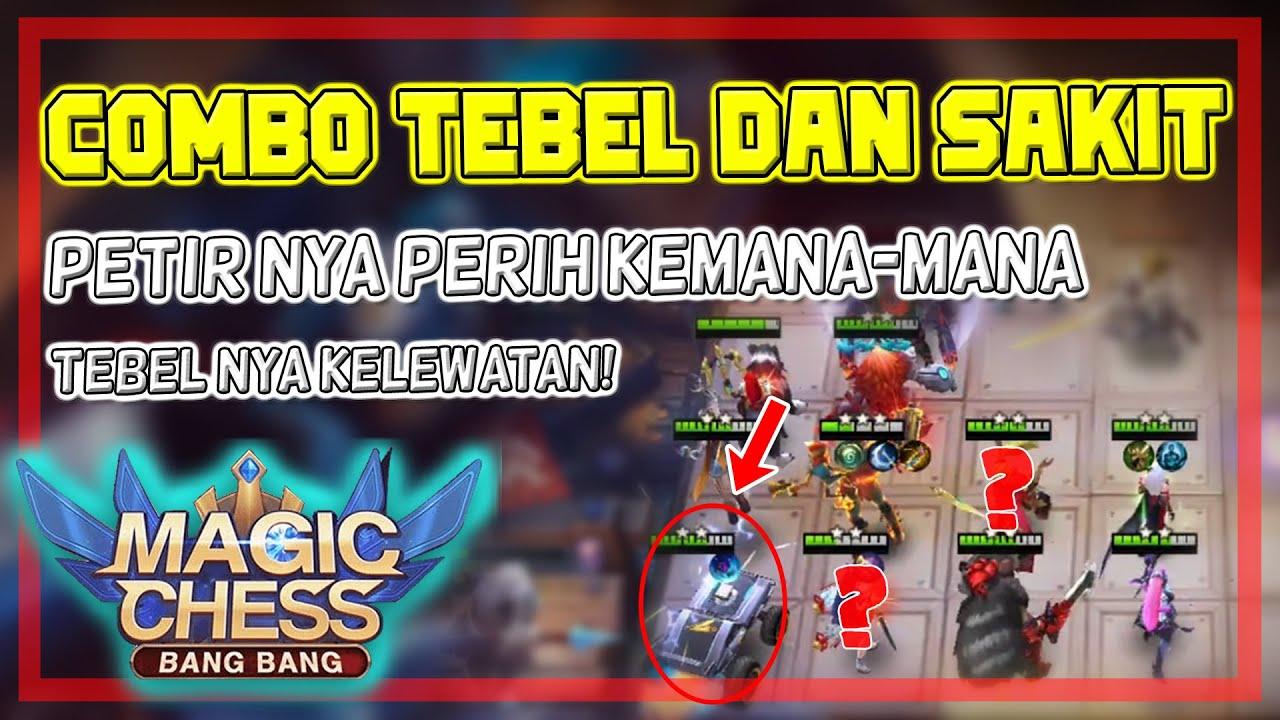 Combo Setruman Maut! Cepet banget Ratain! Combo Terkuat Magic Chess - Mobile Legends Bang Bang