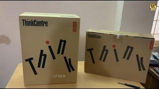 Lenovo Desktop PC Unboxing | Lenovo ThinkCentre M710e Desktop Unboxing | PC Reviews | LT HUB