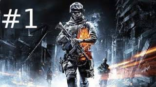 Battlefield 3 Multiplayer Gameplay As A n00b Part 1 - Jump In