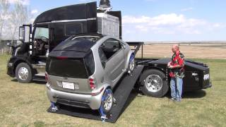 RVHaulers Phoenix Hydraulic Smart Car Loader Bed Demo and Tour