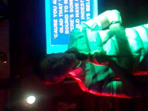 GOLD - SPANDAU BALLET TRIBUTE BY MAD GAY GAVIN - LINDON HOUSE HOTEL WALSALL KARAOKE