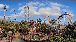 California's 1st Theme Park - Knott's Berry Farm in Buena Park, California