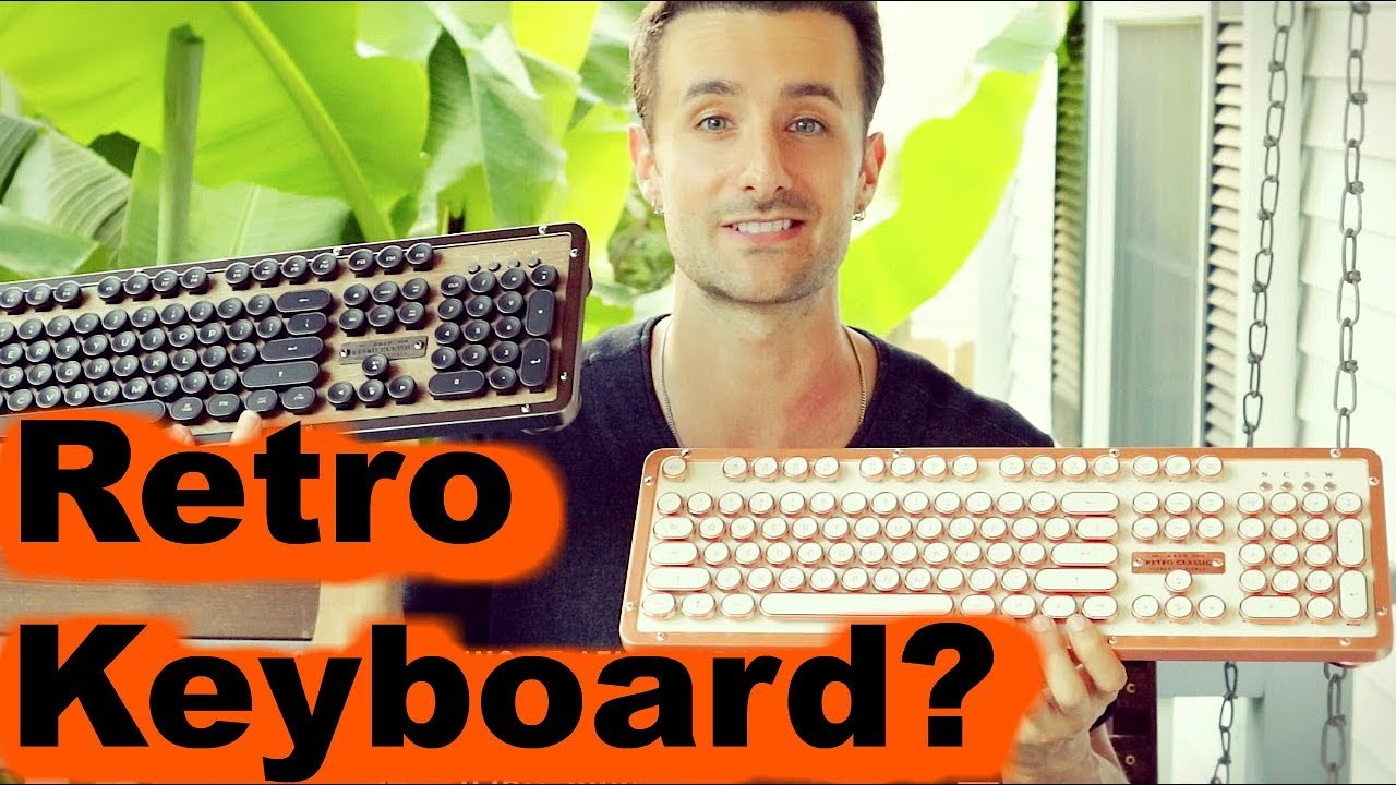 AZIO - Retro Classic Typewriter Keyboard Review