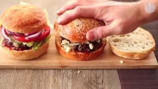 Klasyczne hamburgery z wołowiny - Allrecipes.pl 2017 Video