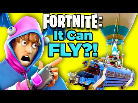 How The Fortnite Battle Bus Works - SOLVED! | The SCIENCE... of Fortnite Battle Royale