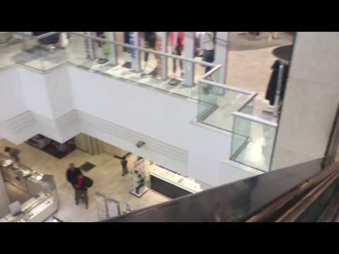 Burlington MA Montgomery  Escalators Macy